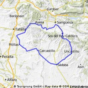 Vuelta Navarra-aragón