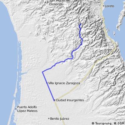 San Javier - Insurgentes 98km