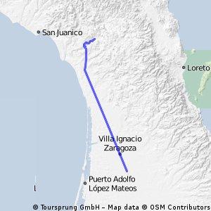 La Purissima - Insurgentes 118km
