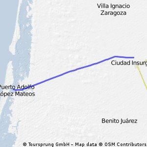 Insurgentes Adolfo Lopez Mateos 36km
