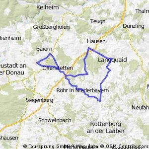 Rundtour um Abensberg