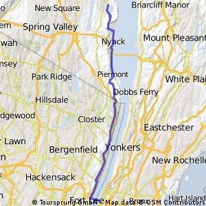 GWB to rockland reservoir