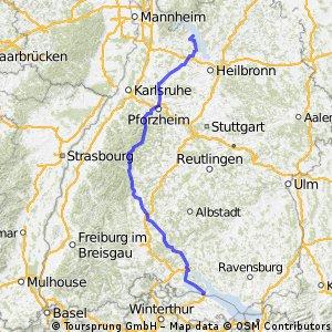 nach Konstanz