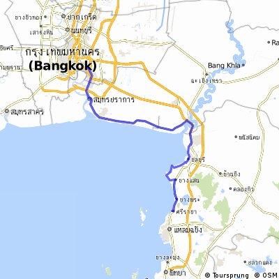 Cycle in Thai 13 : Chonburi, Siracha