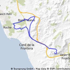 A relatively flat ride from Finca Higueron to Colarado