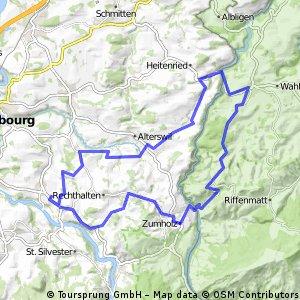 Route Guggisberg