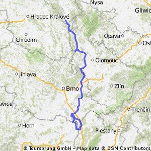 Międzylesie - Austria - Słowacja