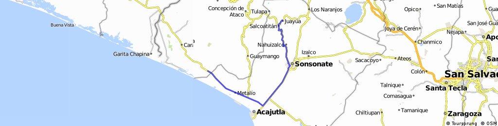 Variante2 Juayua - La Hachadura