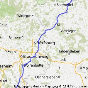 3. Etappe Goslar-Arendsee(161)250