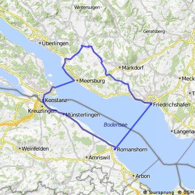 Bodenseerounde - Teilstück