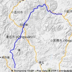 140101 Guangning to Shaoguan
