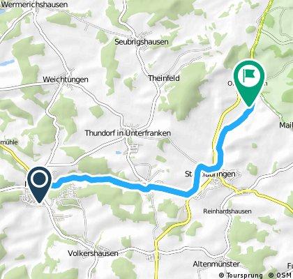 Wanderung Rothausen/Oberlauringen
