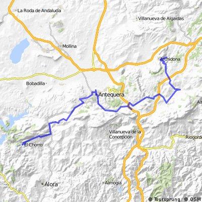 TA Stage 19 El Chorro to Villanueva del Trabuco, Malaga