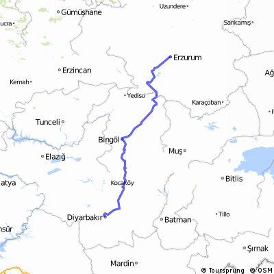 Diyarbaki Erzurum