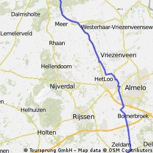 Van Kerspel Goor naar Callunaweg via water Deel 2