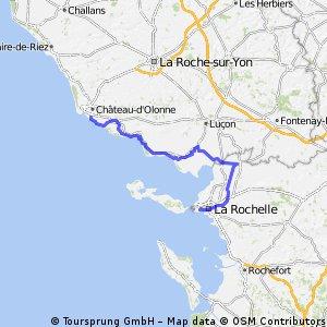 XPT 04J Sables d'Olonne La Rochelle