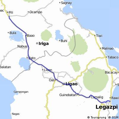 Pili-Polangui-Camalig-Legazpi