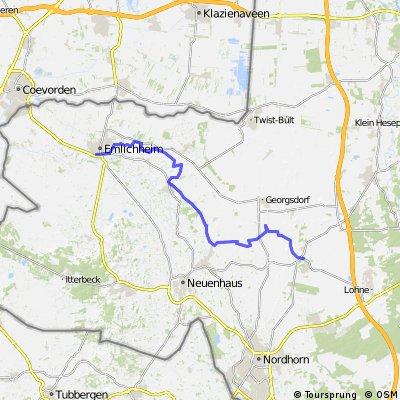 6. Grafschafter Anfietsen: Tour Emlichheim-Wietmarschen