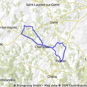 Pageas 26 km
