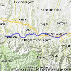 1.1 Lourdes - Villeneuve-de-Rivière