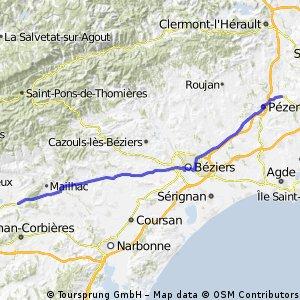 1.5 Olonzac - Montagnac