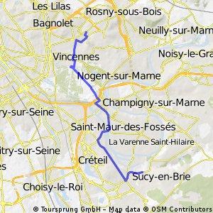 Montreuil - St Maur