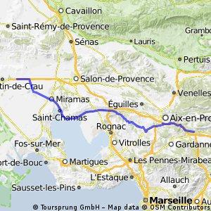 2.3 Saint-Martin-de-Crau - Châteauneuf-le-Rouge