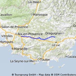2.4 Châteauneuf-le-Rouge - Saint-Antonin-du-Var