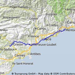 3.1 Grasse - Menton
