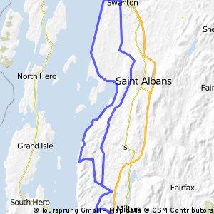Milton to Swanson along the Maquam Shore