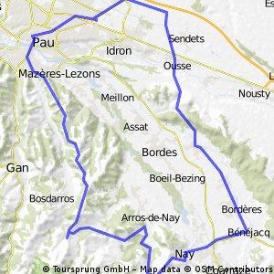 2014 Ride Day 5 - Pau Circle through Nay