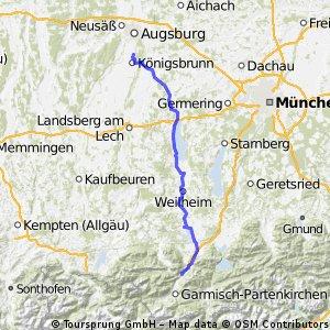 2014 - 3. Tag - Königsbrunn - Oberau