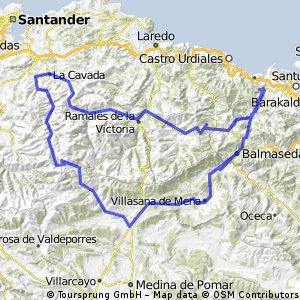 Vuelta a Lunada 203 km