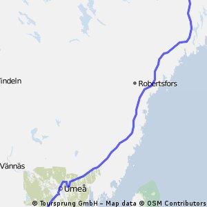 41- Bureå - Hörnefors 148 km (GE)
