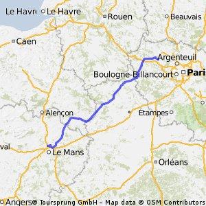 Paris Le Mans