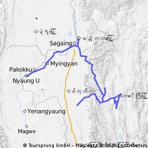 Pyawbwe - Bagan