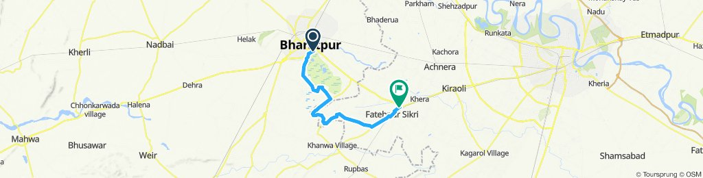 CIR D14 Bharatpur - Fatehpur Sikri