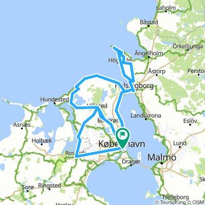 Copenhagen e la costa svedese