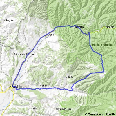 Valea Gurghiului - Gyorgy teto - Salard - Reghin