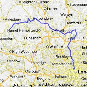 UCL-Wendover via St Albans