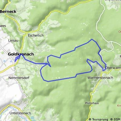 Goldkronach-Gustavsruh-Warmenstainach & zurück