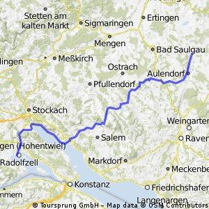 Von Bad Schussenried nach Radolfzell