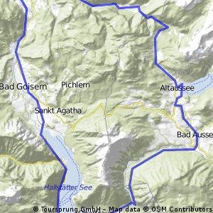 Okruh z Bad Ischl přes Hallstatt,Bad Aussee