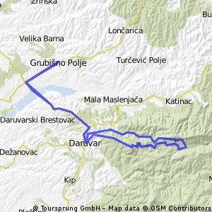 GP - Petrov Vrh - Crni Vrh - Toplica - GP