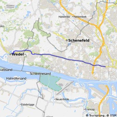 Bahrenfeld - Wedel Verkehrsstraße