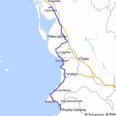tecuala-puerto vallarta