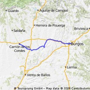 Burgos to Carrion de los Condes