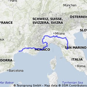 Potential euro trip