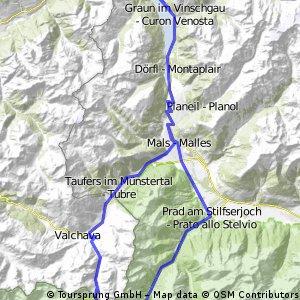Reschenpass/Stilfserjoch/Reschenpass