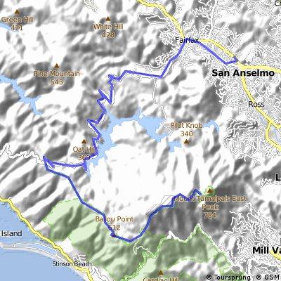 San Anselmo - Mt Tam
